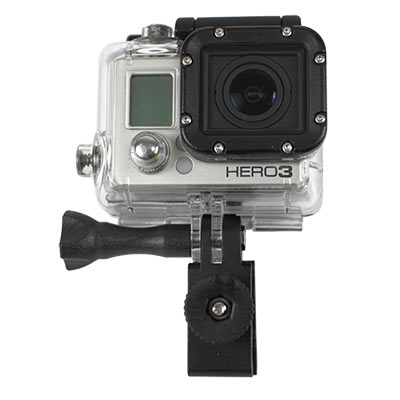dive mask gopro mounting clamp with gopro