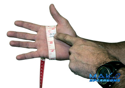 glove size measurement procedure