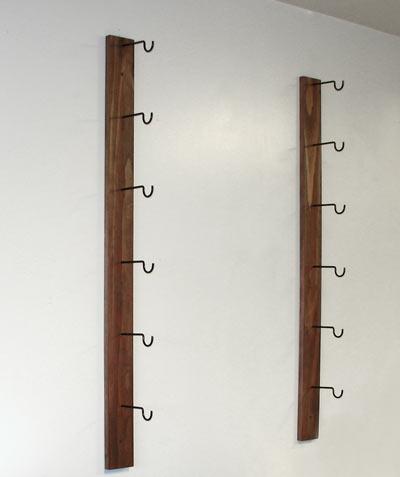 Gun Hooks for a Gun Rack