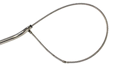 Lobster Noose Stainless Steel Open