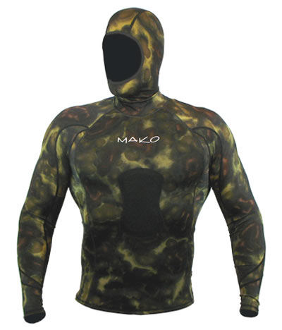 Shown with optional Green Camo Hood