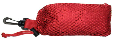 Mesh Collection Bag - Red