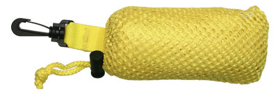 Mesh Collection Bag - Yellow