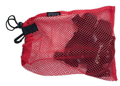 Legs Weights fit nicely in the Mini Mesh Bag