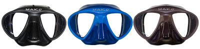 Minimus Freedive Mask Available Colors