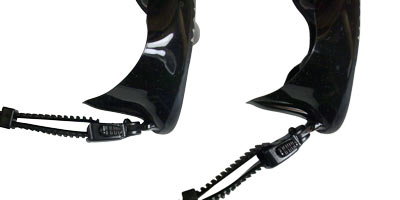 Minimus Freedive Mask Flexible Buckle Mounts