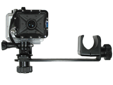 Shown with GoPro Dive Housing and Side Mount Camera arm