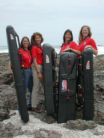 2004 US Women's Spearfishing Team