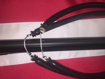 Rapid Band Change Wishbones installed