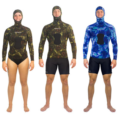 Shown worn with Rashguard Shirt and Hood
