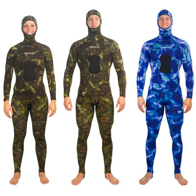 Shown with optional Rashguard Shirt and Hood