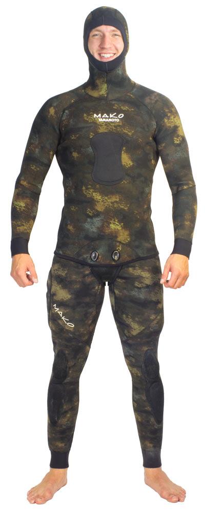 wetsuit - Reef Camo