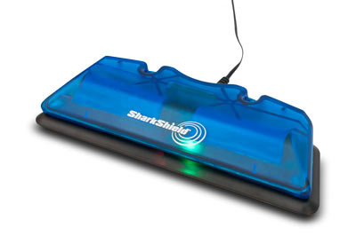 Shark Shield Surf Bundle charging dock
