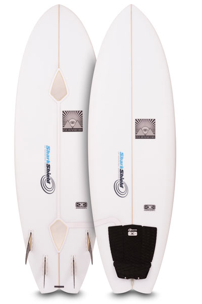 Shark Shield Surf Bundle Installed on surfboard
