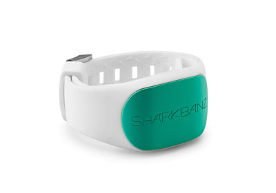 sharkbanz 2 white-seafoam