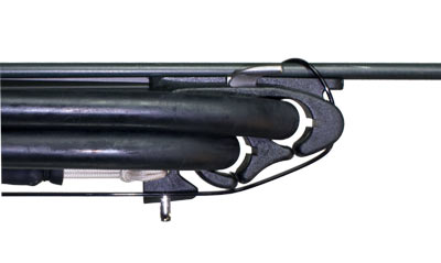 Shock Cord on Open Muzzle with Standard Wrap Rigging