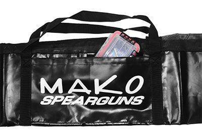 Speargun Bag Side Pocket with Velcro Closure