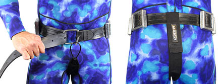 Weight Belt Crotch Strap keeps your weights in place