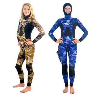 Womens Yamamoto Wetsuits