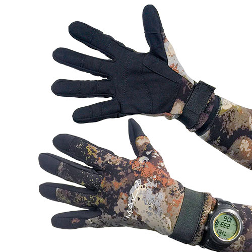 Genuine YAMAMOTO 3D Reef Camo Dive Gloves