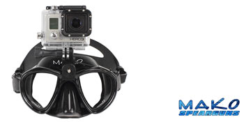 Dive Mask Go Pro Mounting Clamp