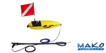 Professional Inflatable Spearfishing Float