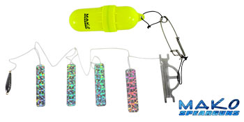 Self Contained Mini Fish Flasher Kit