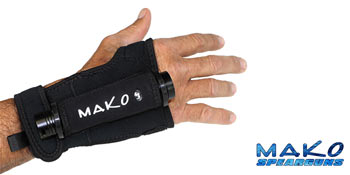Wrist Glove Flashlight Holder