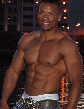 Male stripper Johnny Bell serving chicago