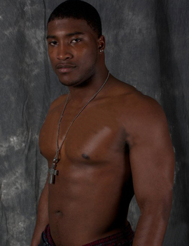 Male stripper Darcell serving cleveland