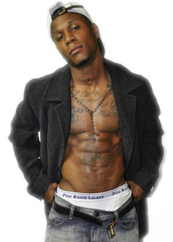 Male stripper Rhyan serving cleveland