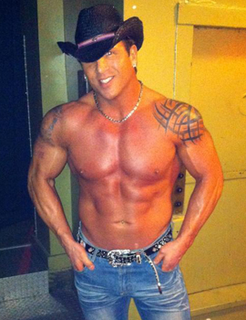 Male stripper Billy serving columbus