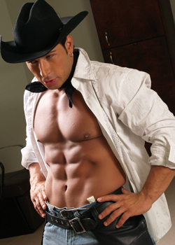 Male stripper Christian serving denver