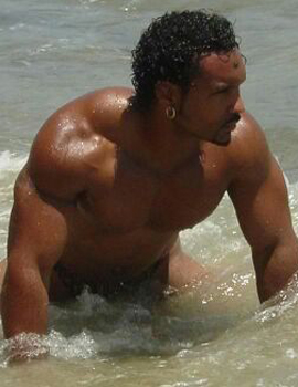 Male stripper Dorian serving losangeles