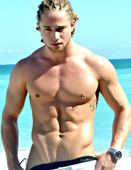 Male stripper Mason serving Florida