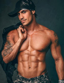 Male stripper David serving phoenix
