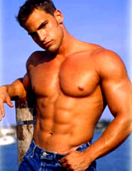 Male stripper Michael Lee serving dallas