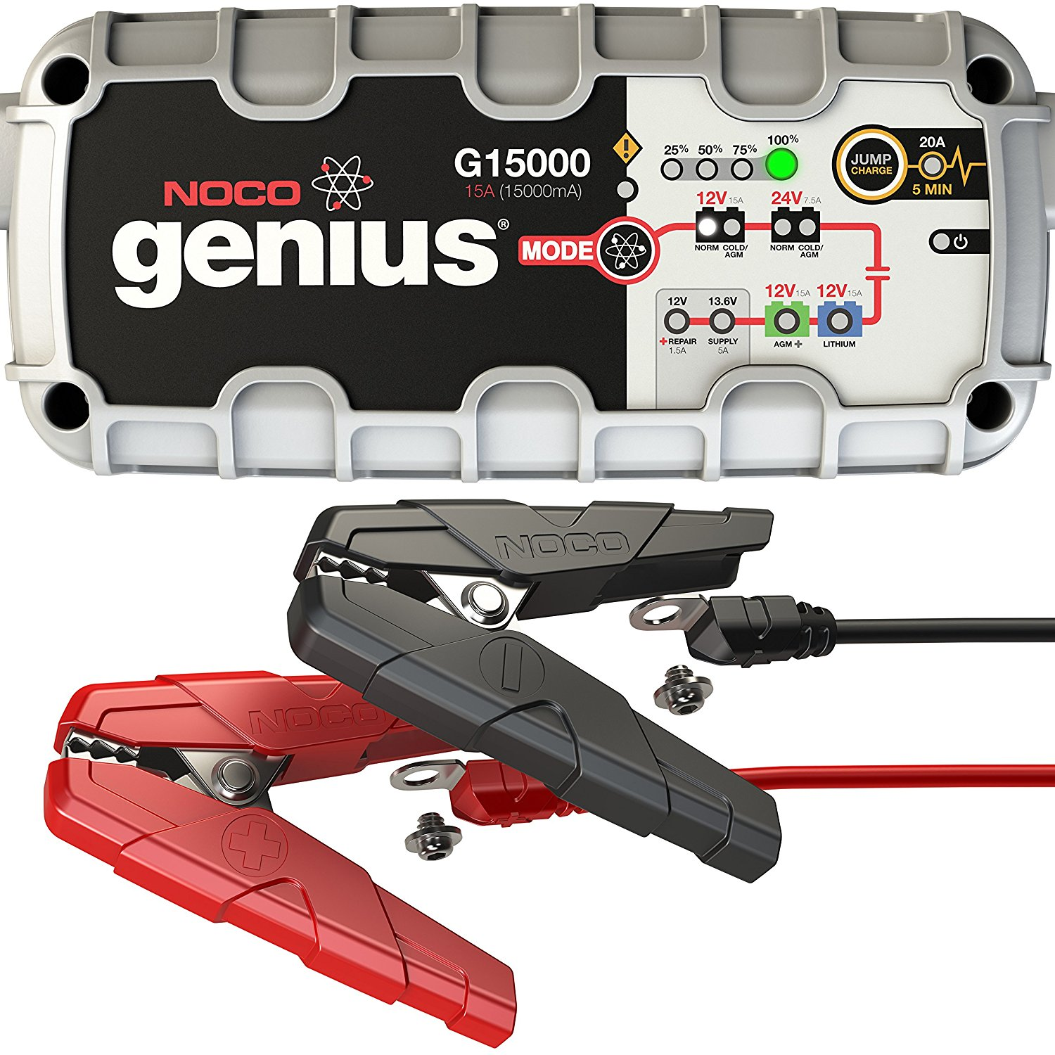 NONO Genius G15000 12v/24v Smart Battery Charger