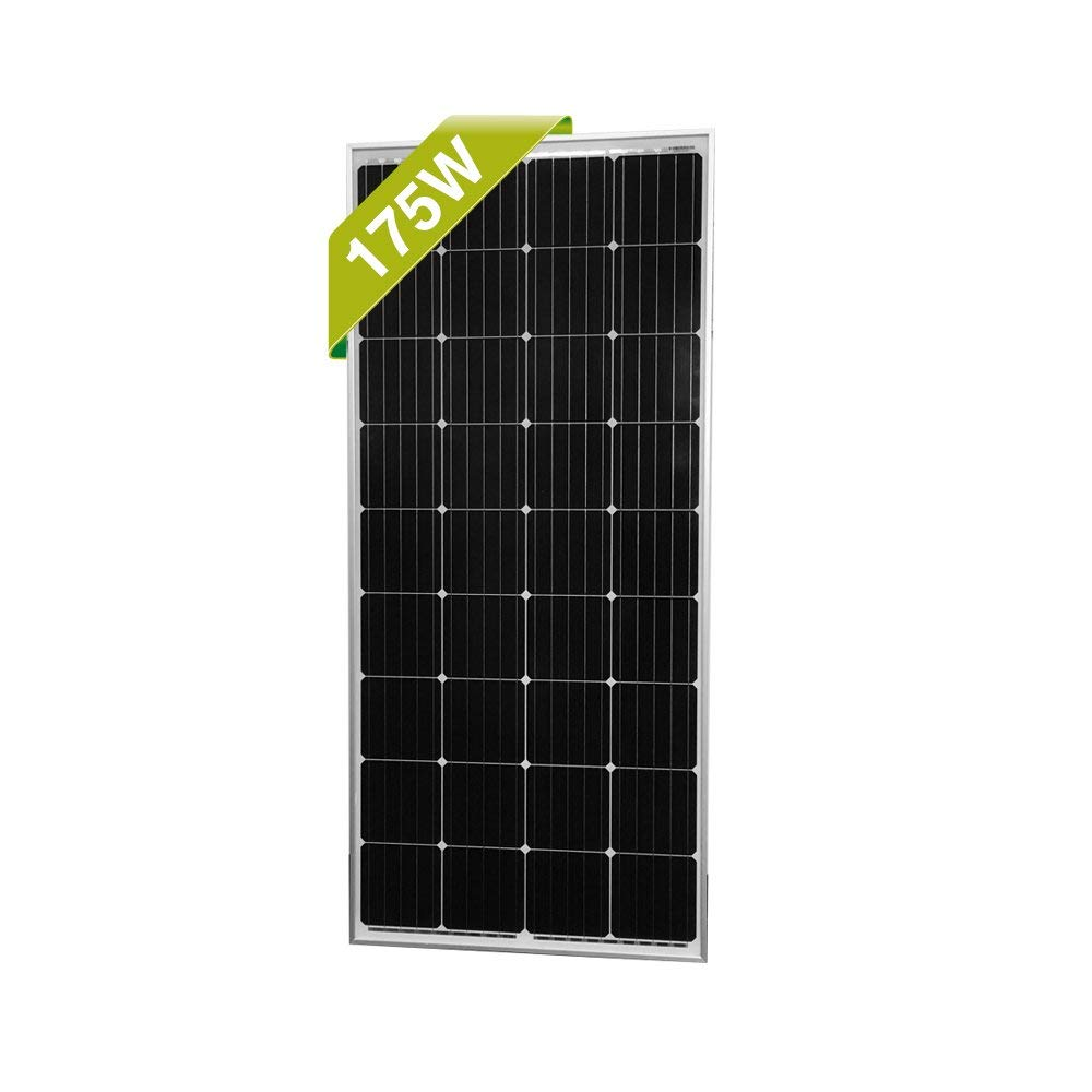 Newpowa 175W 175 Watt 12V Moncrystalline Solar Panel High Efficiency Mono Module
