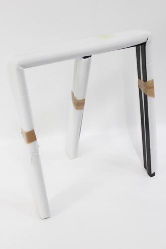 Hay Tischböcke hay loop stand frame tischböcke 2 st stand frame schwarz stahl