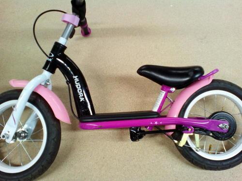 hudora laufrad kinder fahrrad cruiser 12 zoll lila. Black Bedroom Furniture Sets. Home Design Ideas