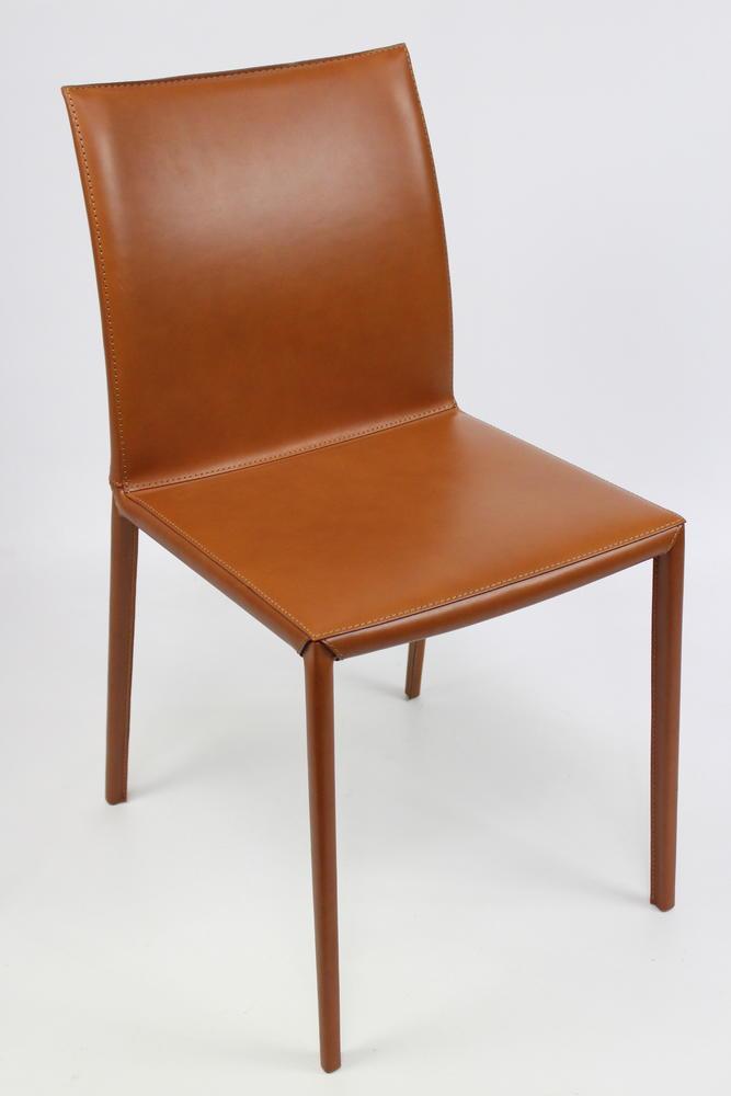 Zanotta lea stuhl beine leder bezogen leder 95 leder cuoio 0714 cognac 567 ebay - Stuhl leder cognac ...