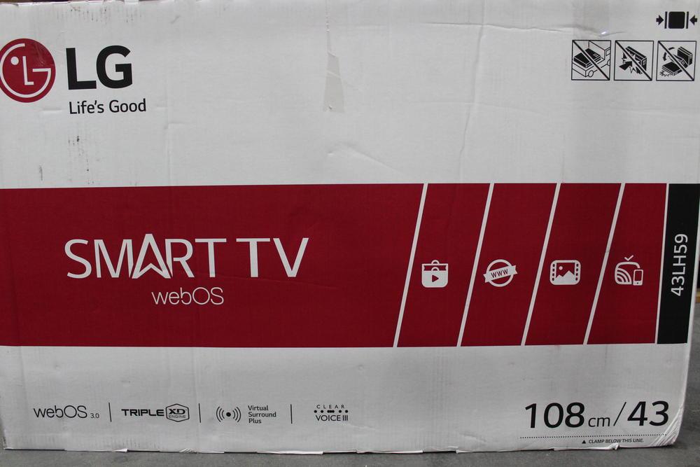 led tv 108cm 43 zoll lg electronics 43lh590v eek a 1080p. Black Bedroom Furniture Sets. Home Design Ideas