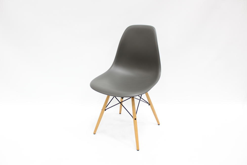 vitra eames plastic side chair basalt grau stuhl desingerstuhl ebay. Black Bedroom Furniture Sets. Home Design Ideas