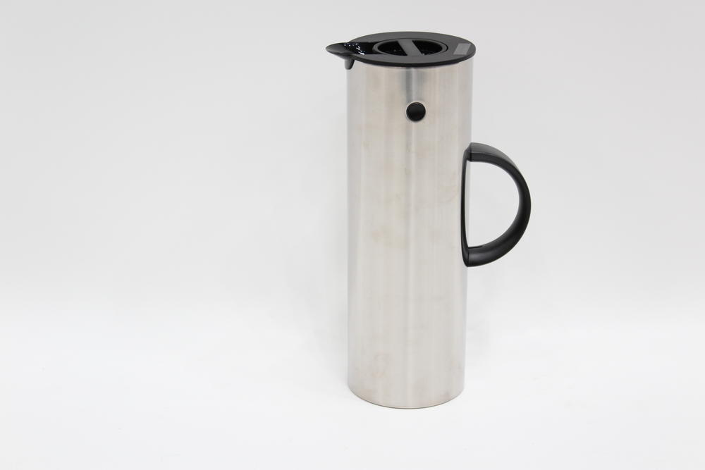 stelton stelton em77 isolierkanne 1l stahl h 30cm thermoskanne ebay. Black Bedroom Furniture Sets. Home Design Ideas