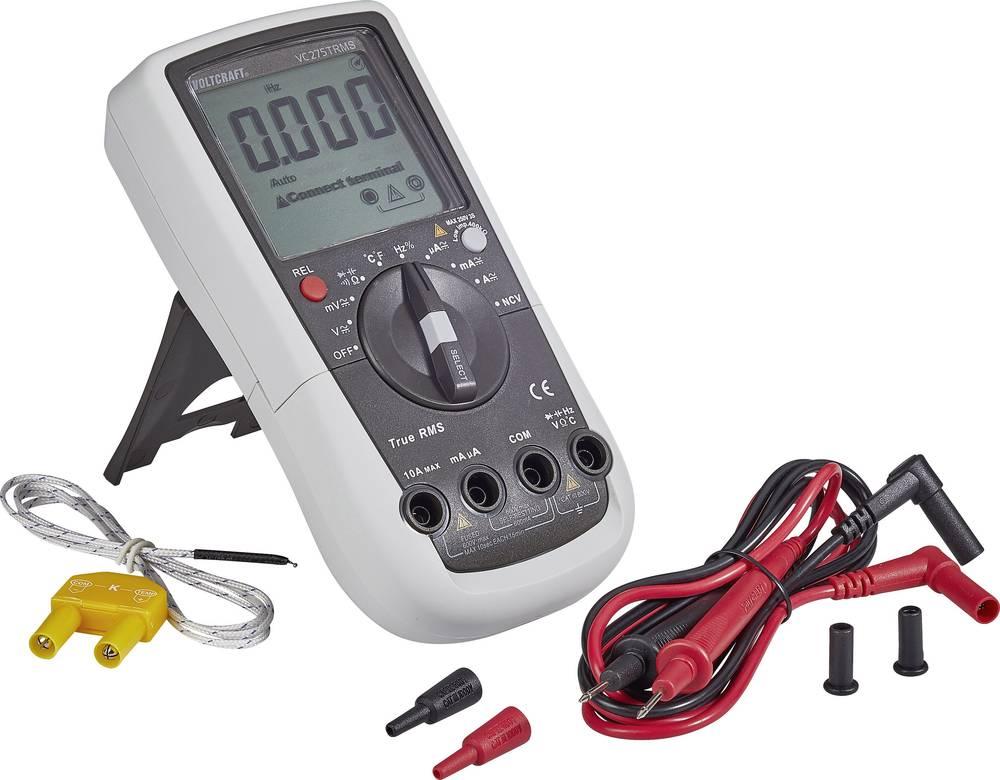 VOLTCRAFT - Hand-Multimeter digital VC275TRMS Kalibriert CAT III 6 ...
