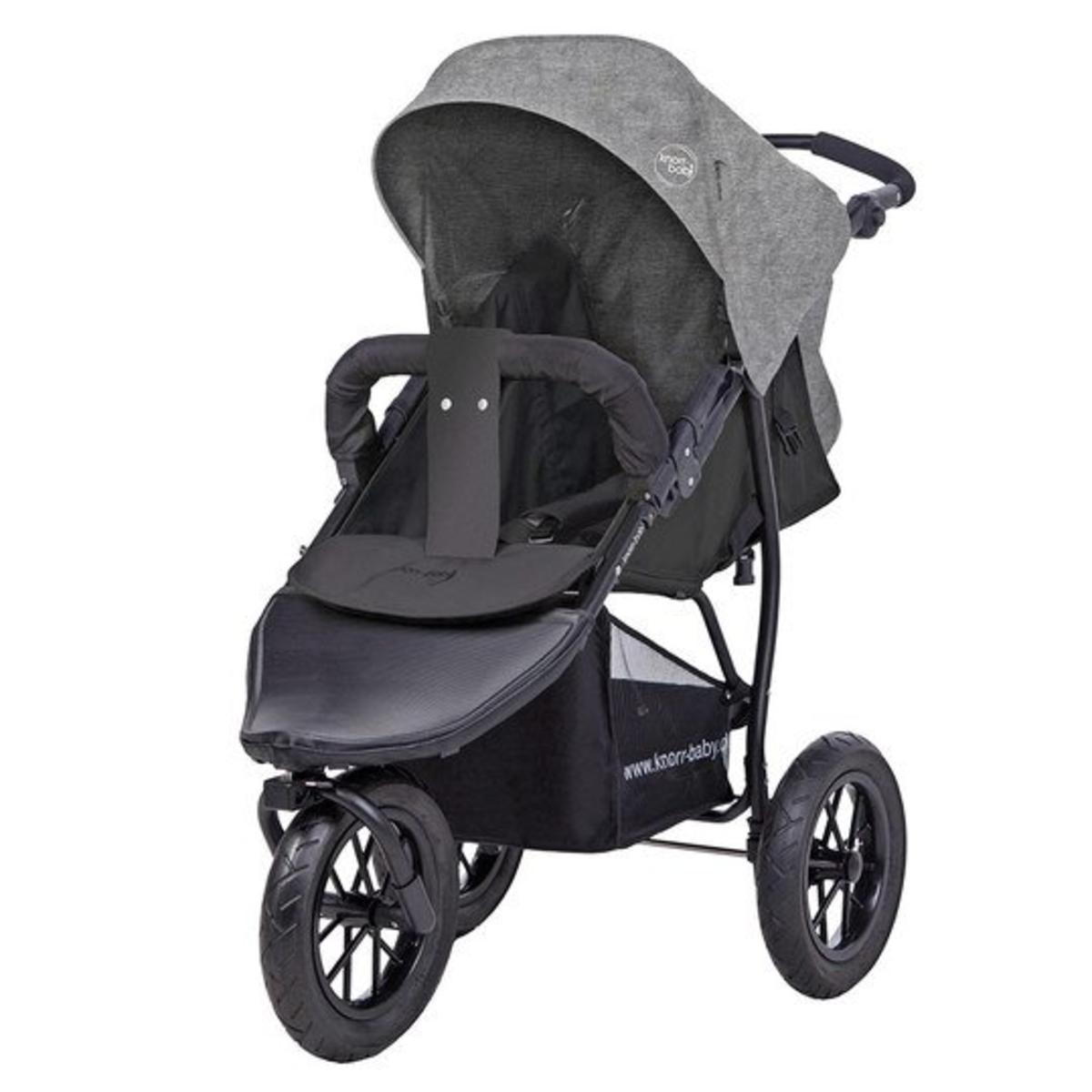 knorr baby joggy s dreirad kinderwagen buggy grau gebraucht stext ebay. Black Bedroom Furniture Sets. Home Design Ideas