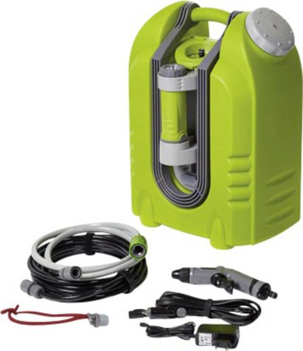 aqua2go pro mobiler hochdruckreiniger 10 bar 230 v kaltwasser 90 l/h