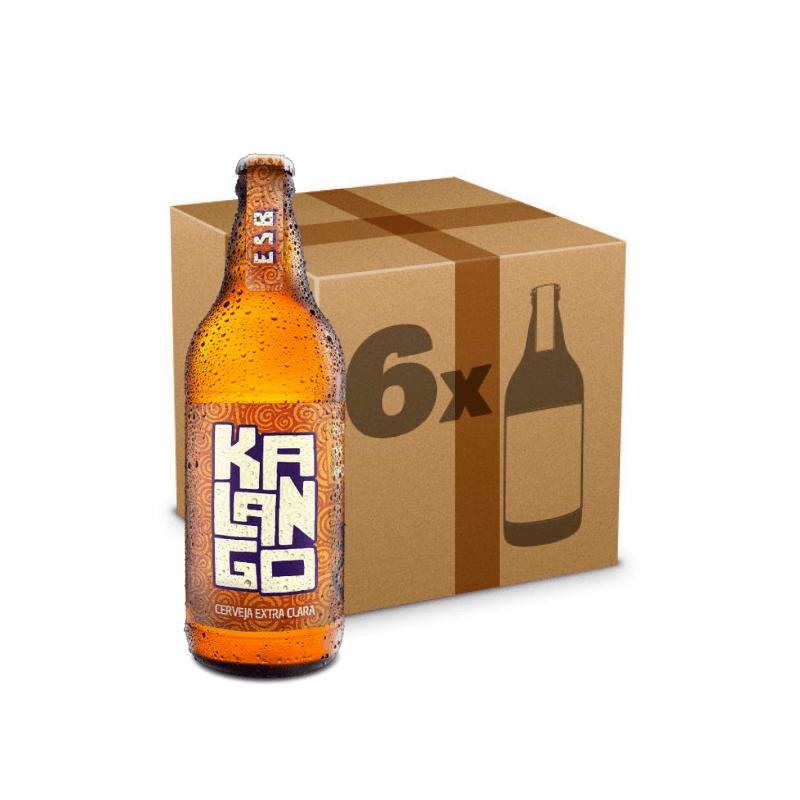 Caixa de Cerveja Artesanal Kalango - 6 Garrafas