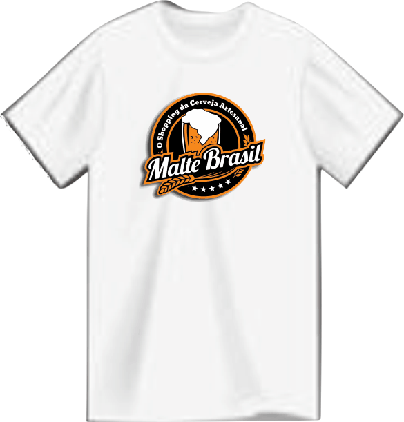 Camiseta Root Brewers – Malte Brasil Poliéster.